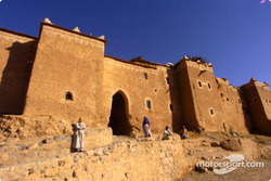 Fortified castle in Morocco