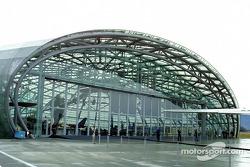 The outside of Hangar-7