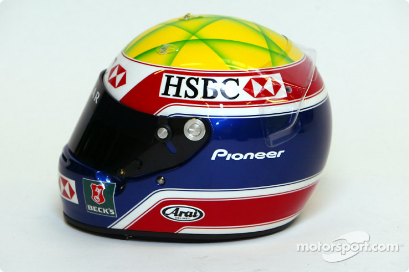 Mark Webber'in, kask