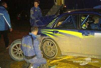 Subaru World Rally Team pre-season testing