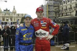 Mikko Hirvoinen and Marcus Gronholm