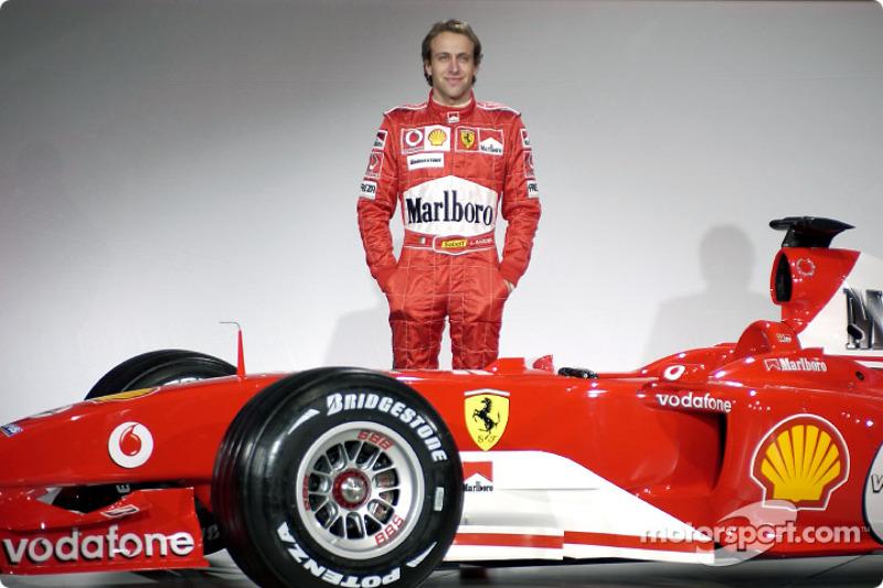 Лука Бадоер і Ferrari F2004