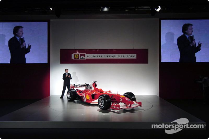 Luca di Montezemelo, yeni Ferrari F2004
