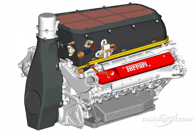 Двигун Ferrari F2004