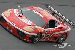 #11 JMB Racing USA Ferrari 360GT: Edi Gay, Diego Alessi, Irady Alexander, Maurizio Mediani, Paul Dana