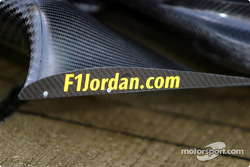 Detail of the new Jordan EJ14