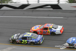 Brian Vickers and Ricky Craven