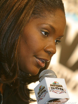 Press conference: Miss America Ericka Dunlap