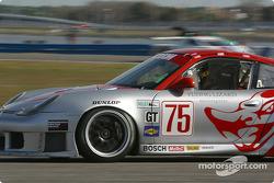 #75 Flying Lizard Motorsports Porsche GT3 Cup: Johannes van Overbeek, Seth Neiman, Lonnie Pechnik, Peter Cunningham