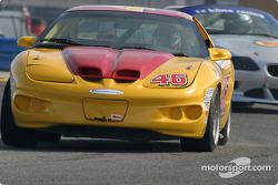 La Firebird n°46 du Michael Baughman Racing (Brad Jaeger, Peter Argetsinger)