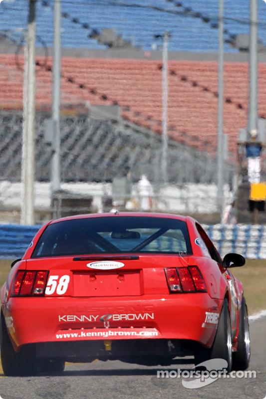 La Mustang Cobra SVT n°58 du Rehagen Racing (Bill Conger, Dean Martin, John Kohler)