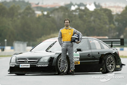 Heinz-Harald Frentzen with the Opel Vectra GTS V8 DTM
