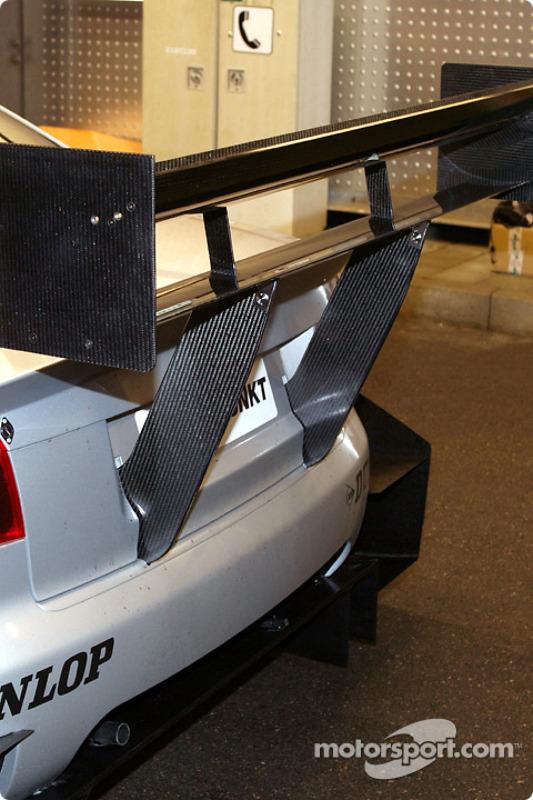Der neue Audi A4 DTM: Heckflügel