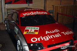 Audi on display