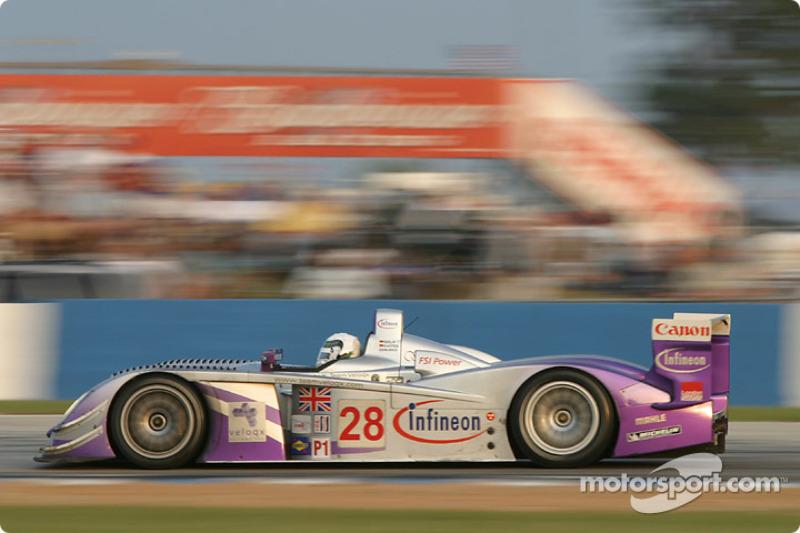 2004: #28 Audi Sport UK Team Veloqx, Audi R8