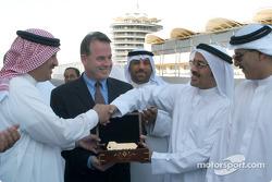 Bahrain International Circuit hand over ceremony