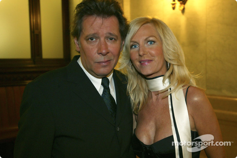 Jan Fedder with wife Marion