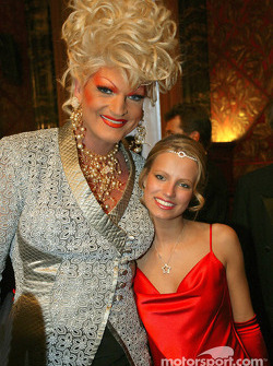 Olivia Jones with Miss Hamburg Hiltja Müller