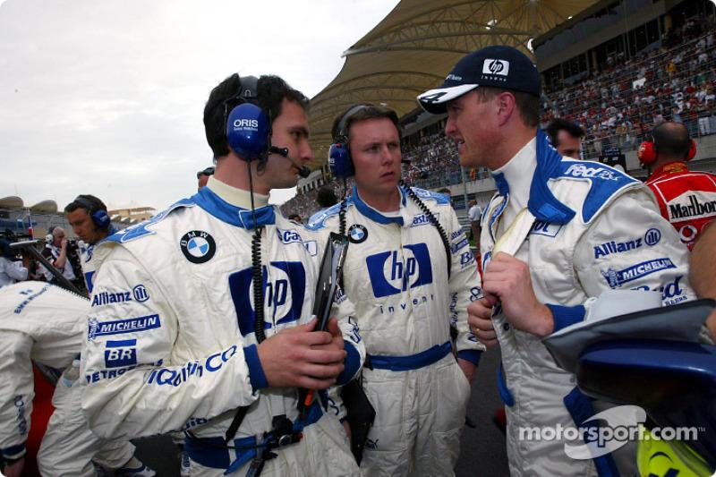 Startaufstellung: Ralf Schumacher, Williams