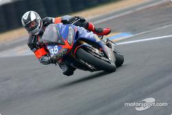 #38 Endurance Moto 38 Yamaha R1: Gwen Giabbani, Stéphane Duterne, Jean-Michel Louis