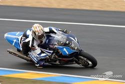 #1 Suzuki-Castrol Team Suzuki GSXR: Vincent Philippe, Olivier Four, Mathieu Lagrive