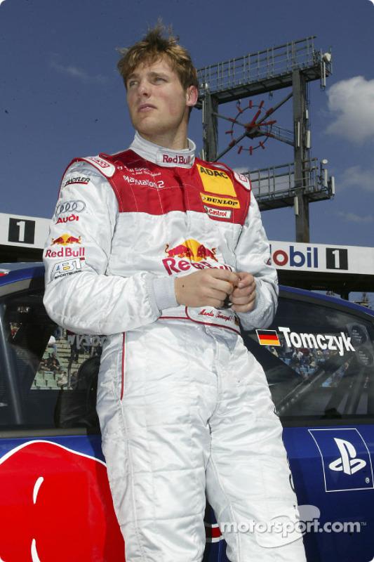 Startaufstellung: Martin Tomczyk, Team Abt Sportsline, Audi A4 DTM 2004