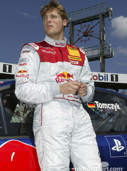 Martin Tomczyk on the starting grid