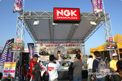 Le stand NGK