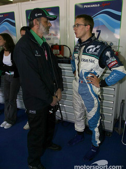 Henri Pescarolo and Sébastien Bourdais
