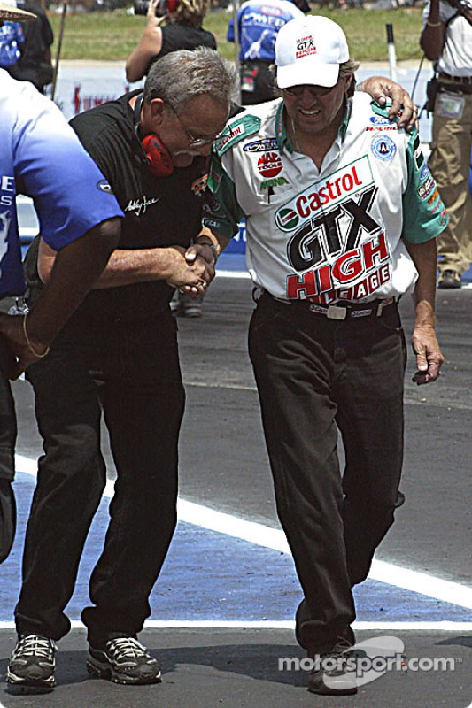 John Force, un papa fier