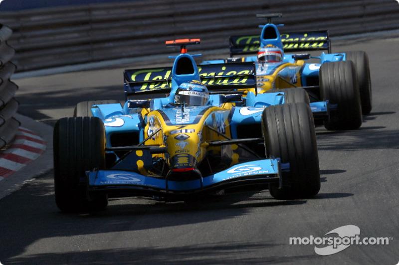 Jarno Trulli (Renault) - GP Monaco 2004