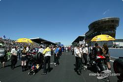 The Le Mans grid