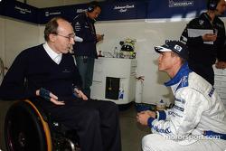 Frank Williams and Ralf Schumacher