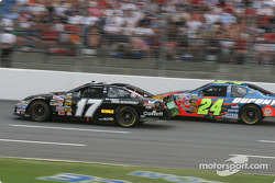Matt Kenseth and Jeff Gordon