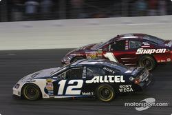 Ryan Newman and John Andretti