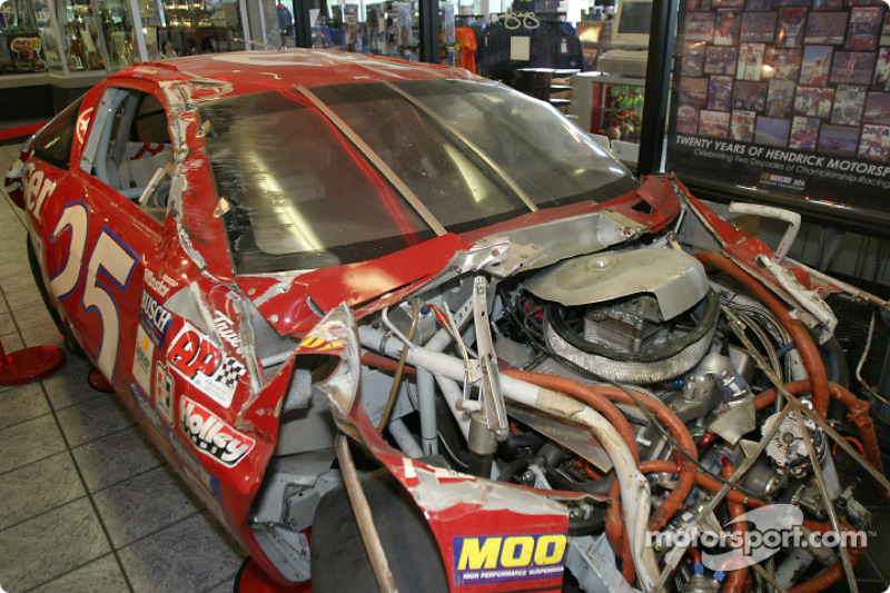 Wrecked Nascar Race Cars For Sale