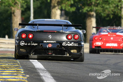 #70 JMB Racing Ferrari 360 Modena: Jaime Melo Jr., Jean-Rene de Fournoux, Stephane Daoudi