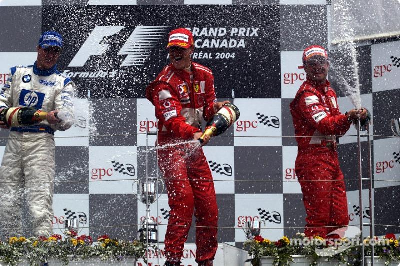 7 victorias en el GP de Canadá