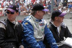 Drivers presentation: Lawrence Tomlinson, Nigel Greensall, Gareth Evans