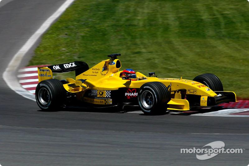 Timo Glock: Grand Prix von Kanada 2004