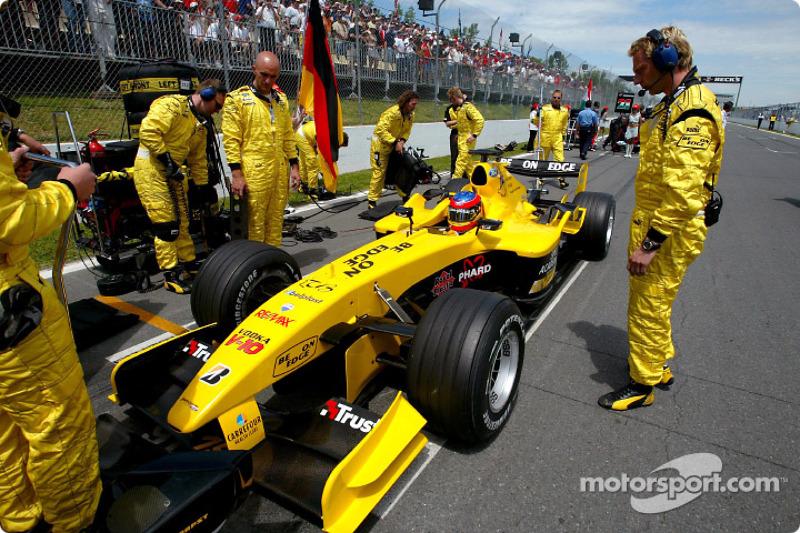 2004 год, Гран При Канады, Тимо Глок, Jordan, 7-е место