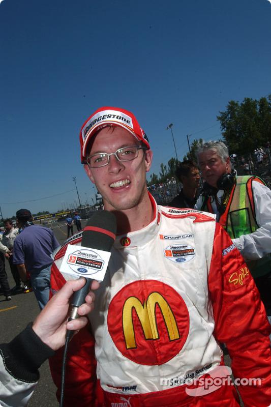 Le vainqueur Sébastien Bourdais