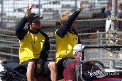 Presentación de controladores: Giorgio Pantano y Nick Heidfeld