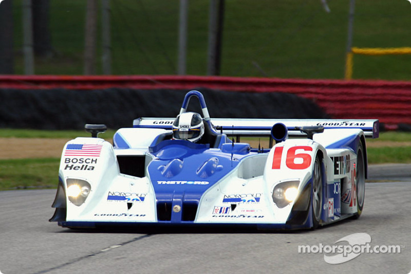 #16 Dyson Racing Team Inc Lola AER: James Weaver, Butch Leitzinger