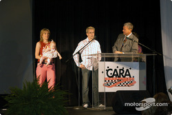 Anita, Karma and Kenny Brack with Bob Jenkins