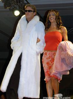 Buddy Rice et sa petite amie Michelle Noonan