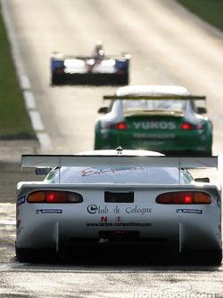 #11 Panoz Motor Sports Panoz Elan: Patrick Bourdais, Jean-Luc Blanchemain, Roland Berville