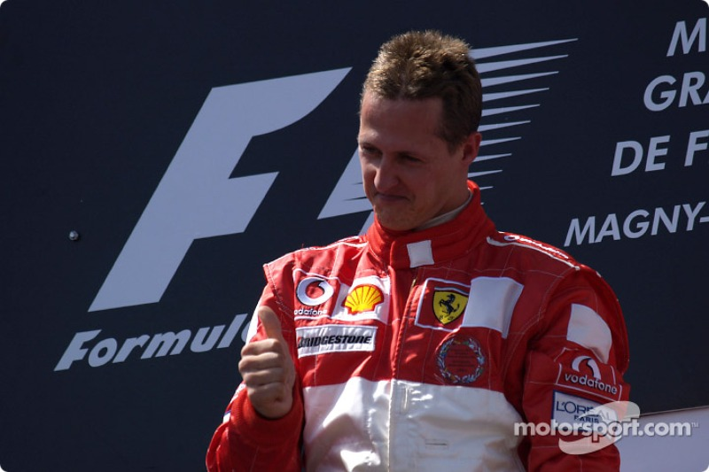 1:Michael Schumacher: 155 podios