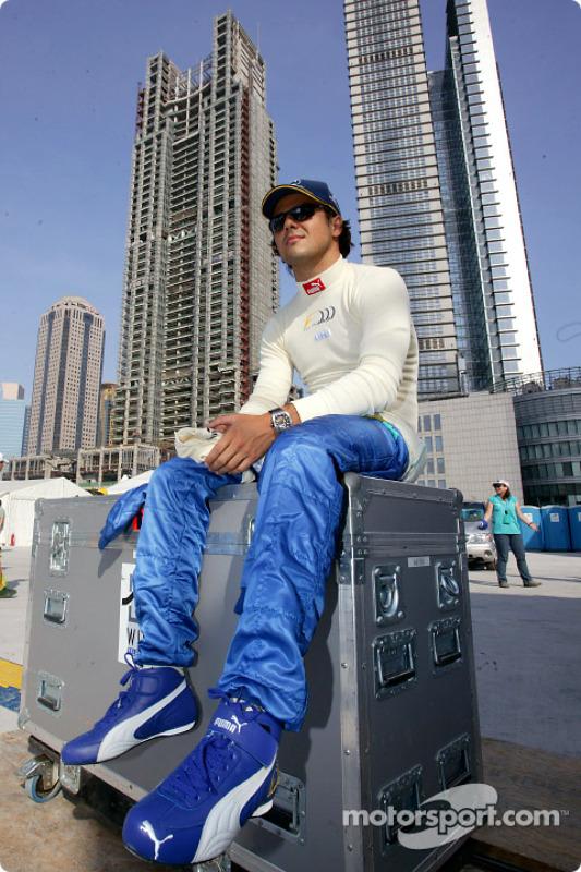 Felipe Massa mit F1-Demorunden