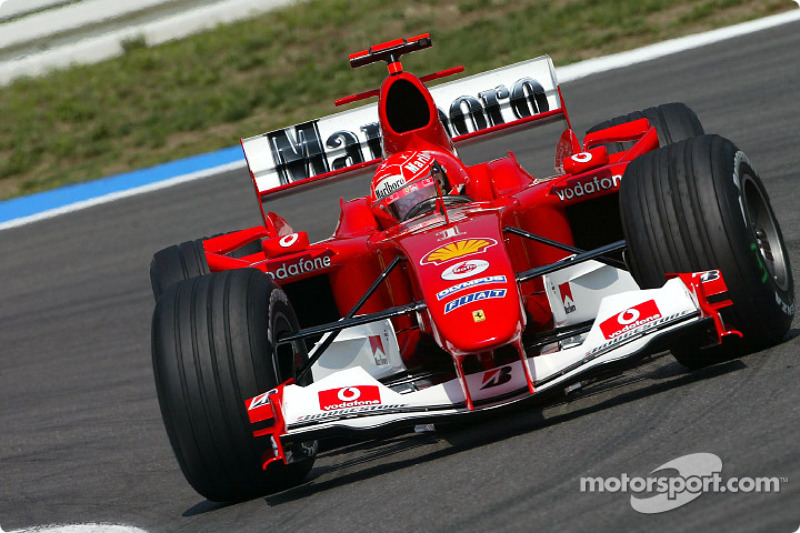2004 - Hockenheim: Michael Schumacher, Ferrari F2004